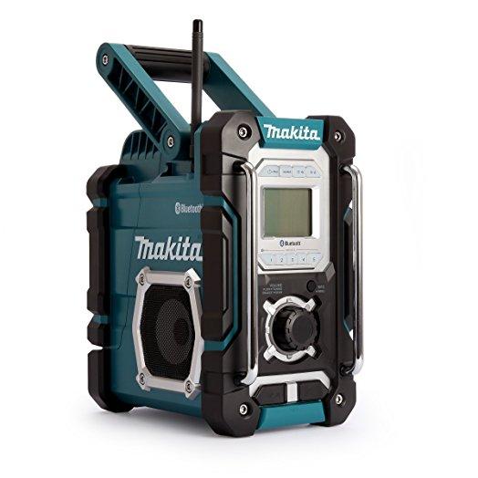 Makita DMR108 7.2V-18V Li-ion Bluetooth Cordless Jobsite Radio