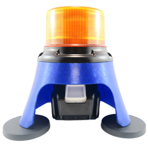 LED Flashing Safety Beacon Light with Magnetic Feet To Suit Makita 18V Li-Ion Battery