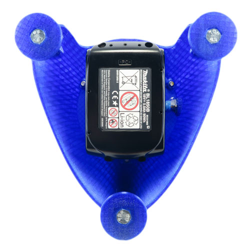 Tactikil LED worklight makita Cordless 18V Li-Ion Battery bottom