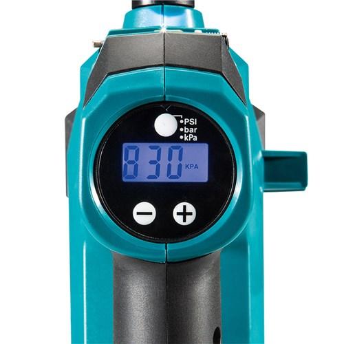 Makita DKP180Z Cordless 18V LXT Li-Ion Tyre Inflator Pump LCD pressure guage