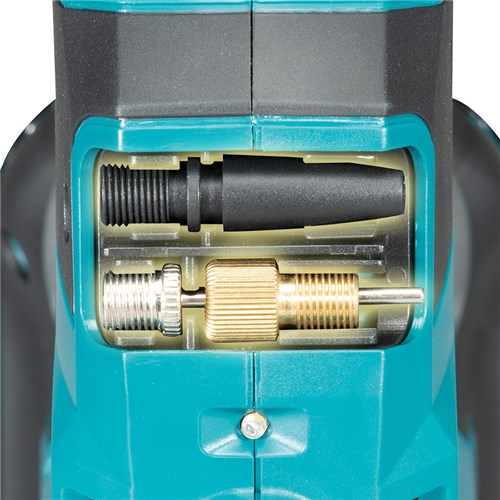 Makita DKP180Z Cordless 18V LXT Li-Ion Tyre Inflator Pump attachments
