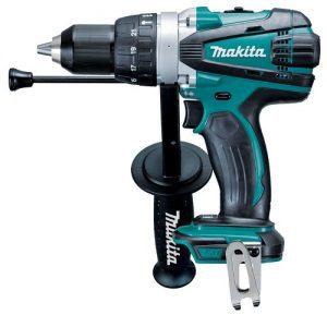 Makita dhp458z 18v lxt li-ion cordless hammer drill driver