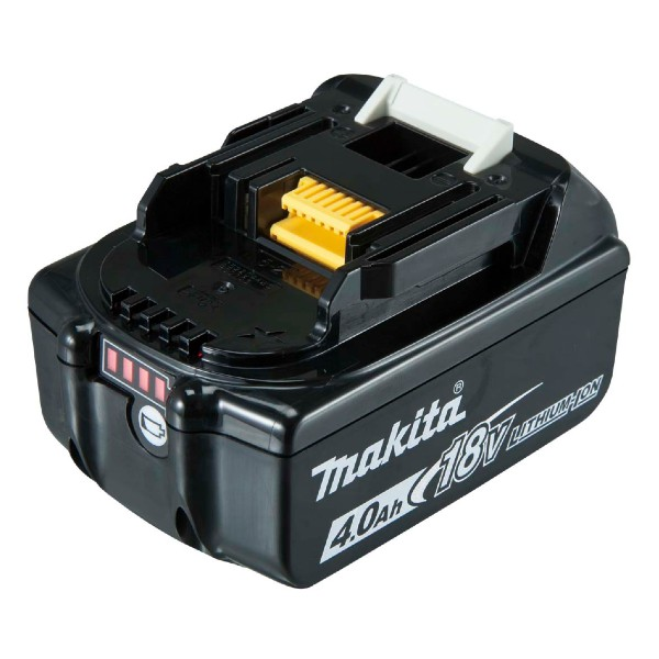makita 18v bl1840b lxt li-ion 4.0ah battery with indicator