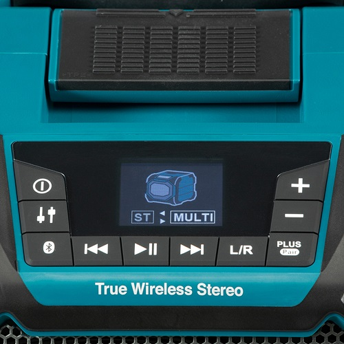 makita-dmr203-12v-18v-li-ion-lxt-cordless-bluetooth-speaker-lcd-front