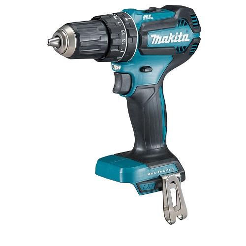 makita dhp485 18v li-ion 13mm brushless hammer drill driver